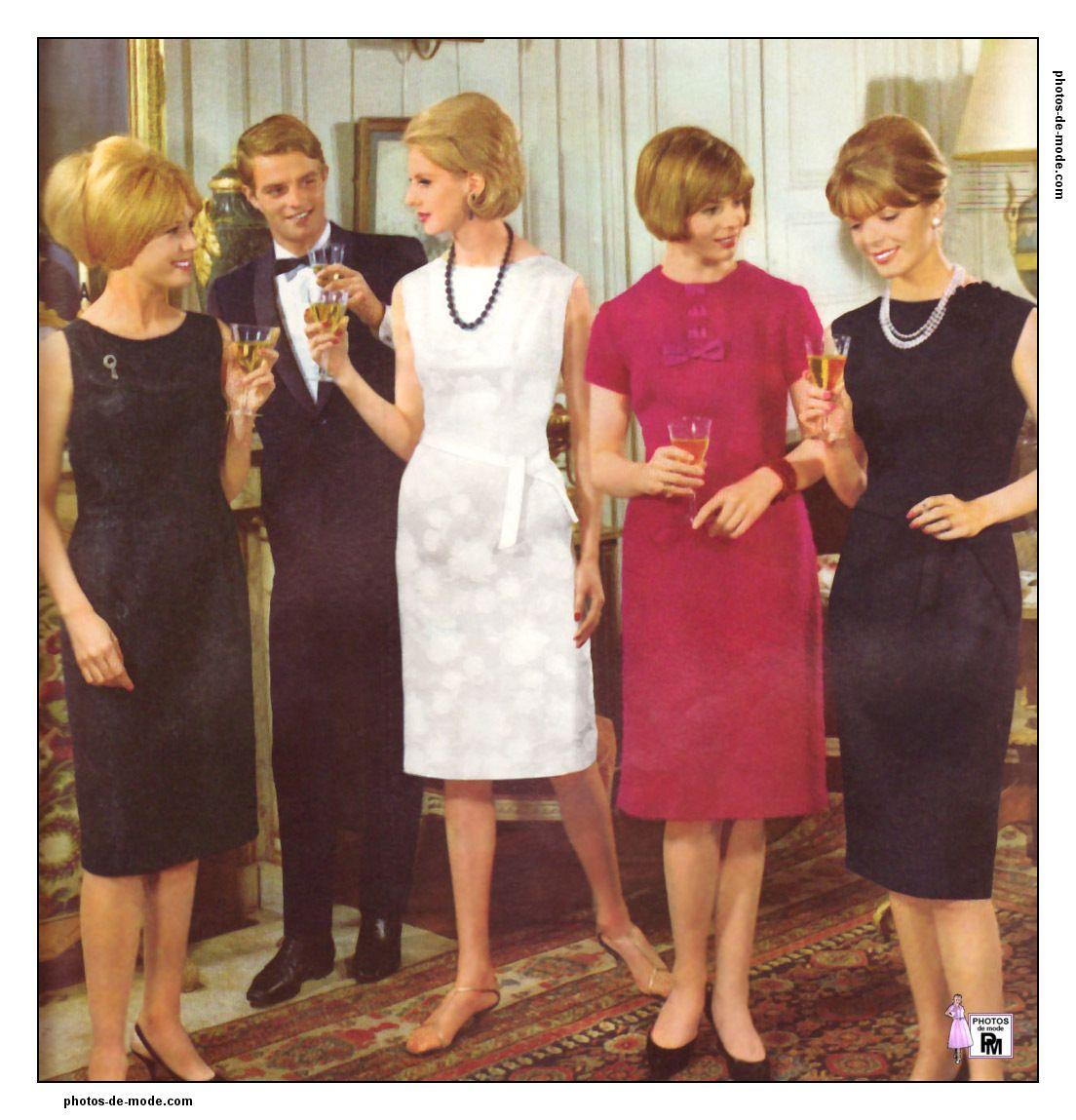 photos de mode r tro des ann es 1950 1960 et 1970 femmes. Black Bedroom Furniture Sets. Home Design Ideas