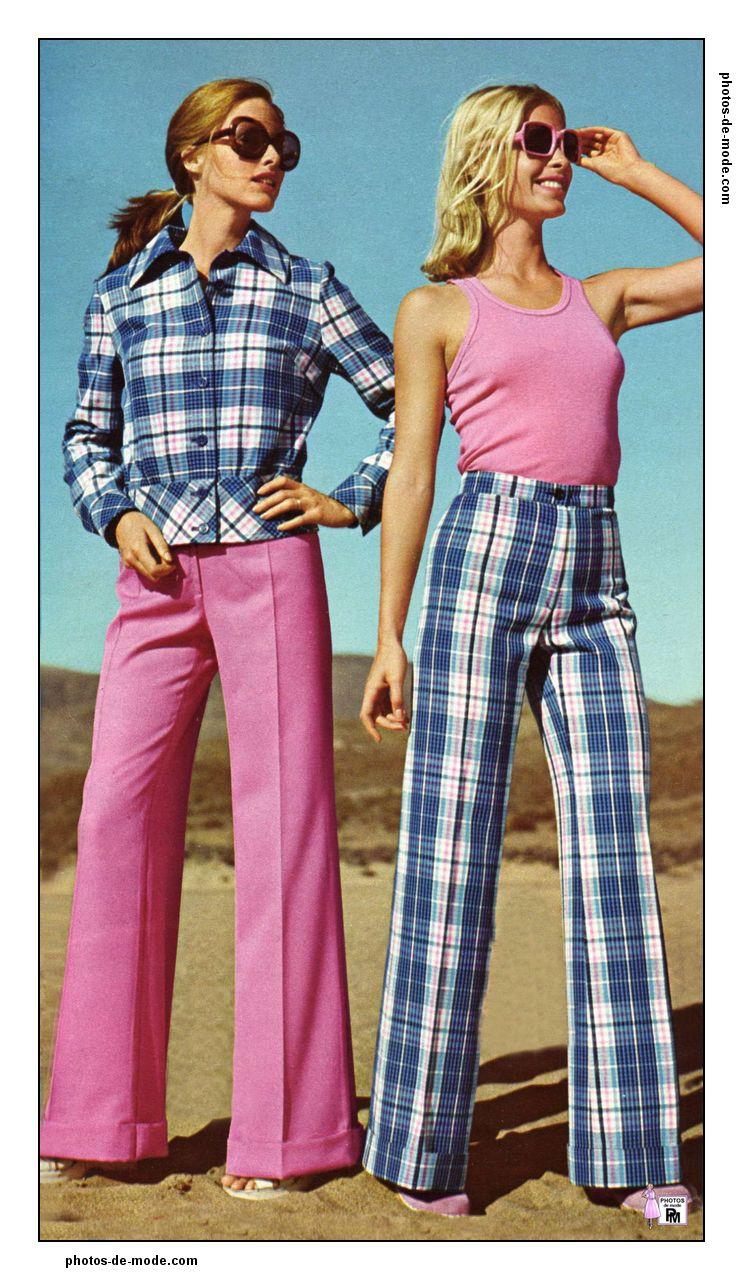 Photos de mode r tro des ann es 1950 1960 et 1970 femmes et stars des fifties sixties et seventies - Vetement annee 70 ...
